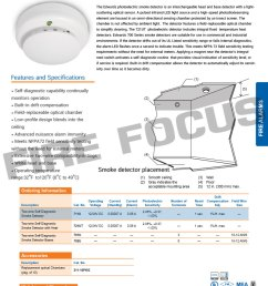 2 wire photoelectric smoke detector with base 711u ge edwards [ 800 x 1200 Pixel ]