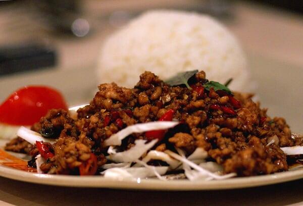 Basil Chicken Rice