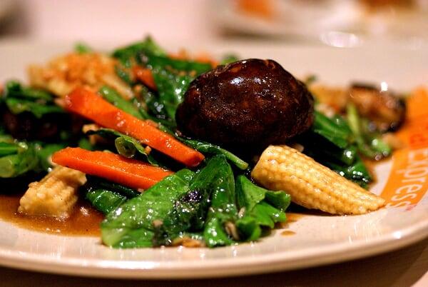 Mixed Vegetables & Mushrooms