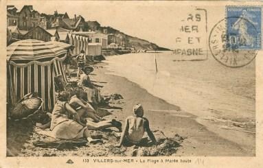 Villers-sur-mer. CP 4053. Médiathèque du Grand Troyes. Photo P. Jacquinot