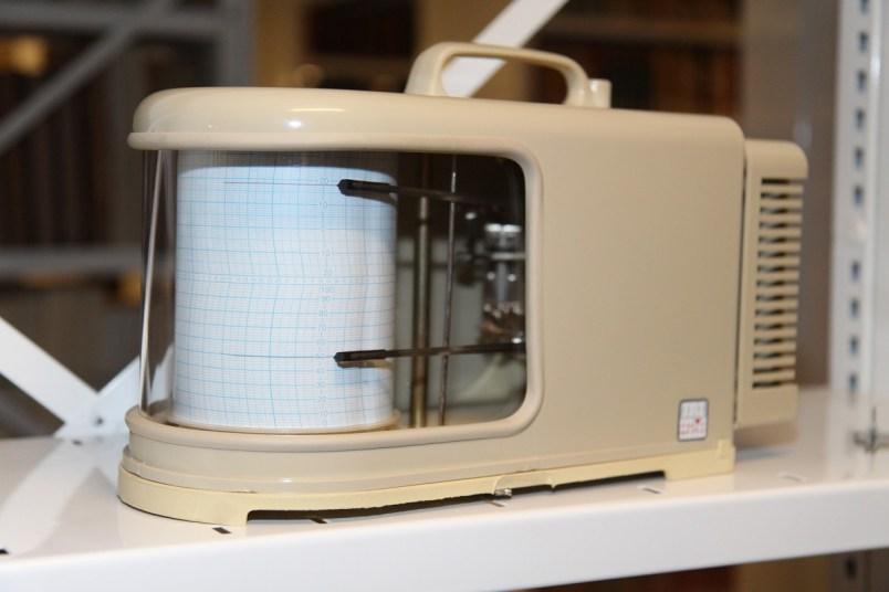 Les thermo hygromètres enregistrent en permanence la température et le taux d'humidité dans les magasins. Photo Médiathèque de Troyes Champagne Métropole