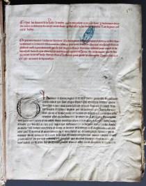 Charte promulguée par Thibault IV créant le corps des jurés de la ville de Troyes. Cartulaire déposé à la Médiathèque de Troyes Champagne Métropole, fonds des Archives municipales de Troyes. [Delion 1]