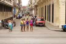 An afternoon wondering around the streets of Havana Photograph: Georgia Korossi/11polaroids