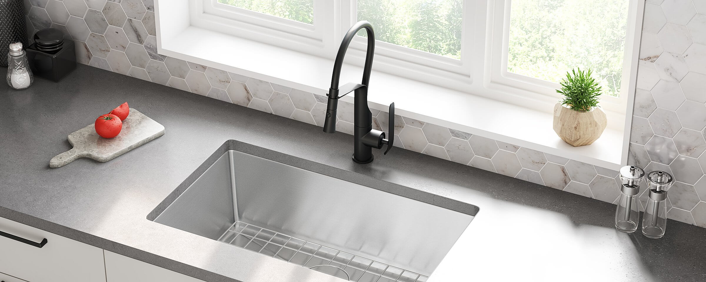 24 inch kitchen sink product allora usa