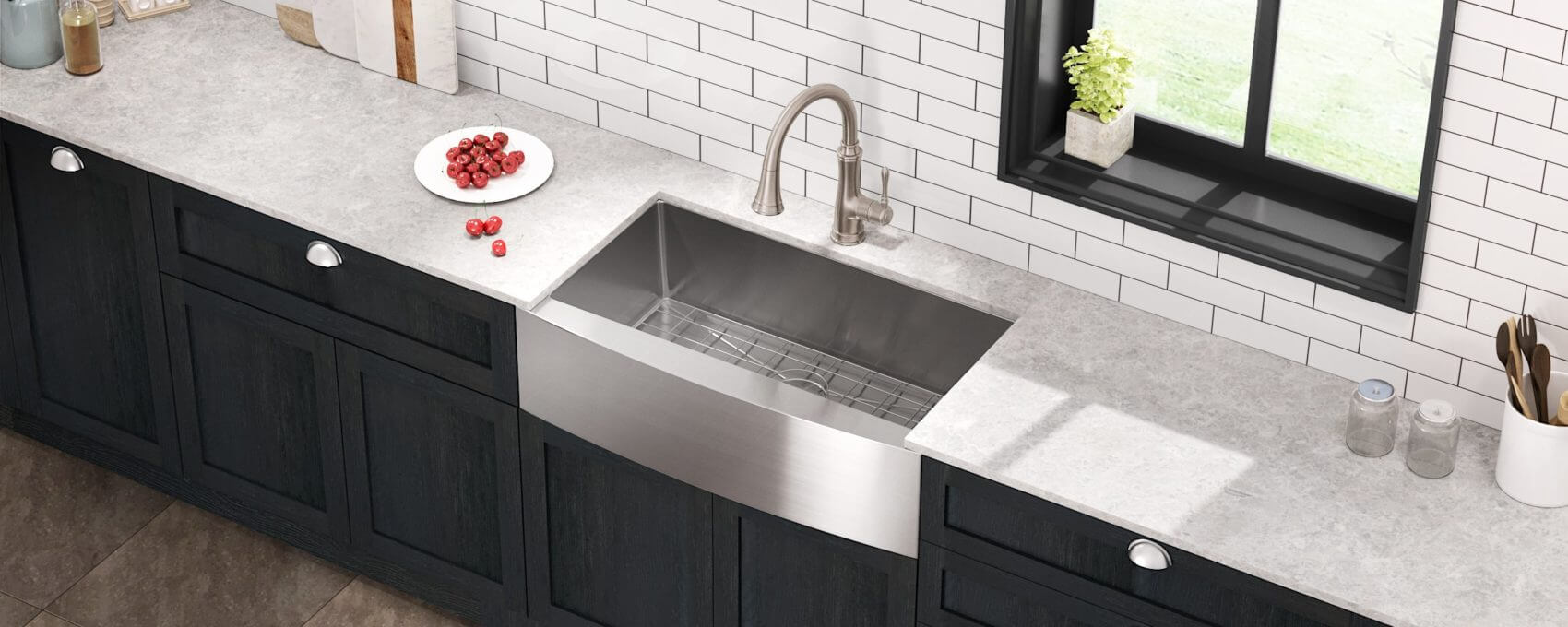 27 inch kitchen sink product allora usa