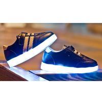 Kinder Junge Mdchen Schuh Sneakers Led Light Farbwechsel