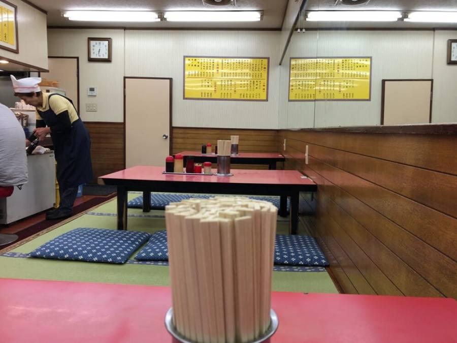 上大岡タンタンの座敷席