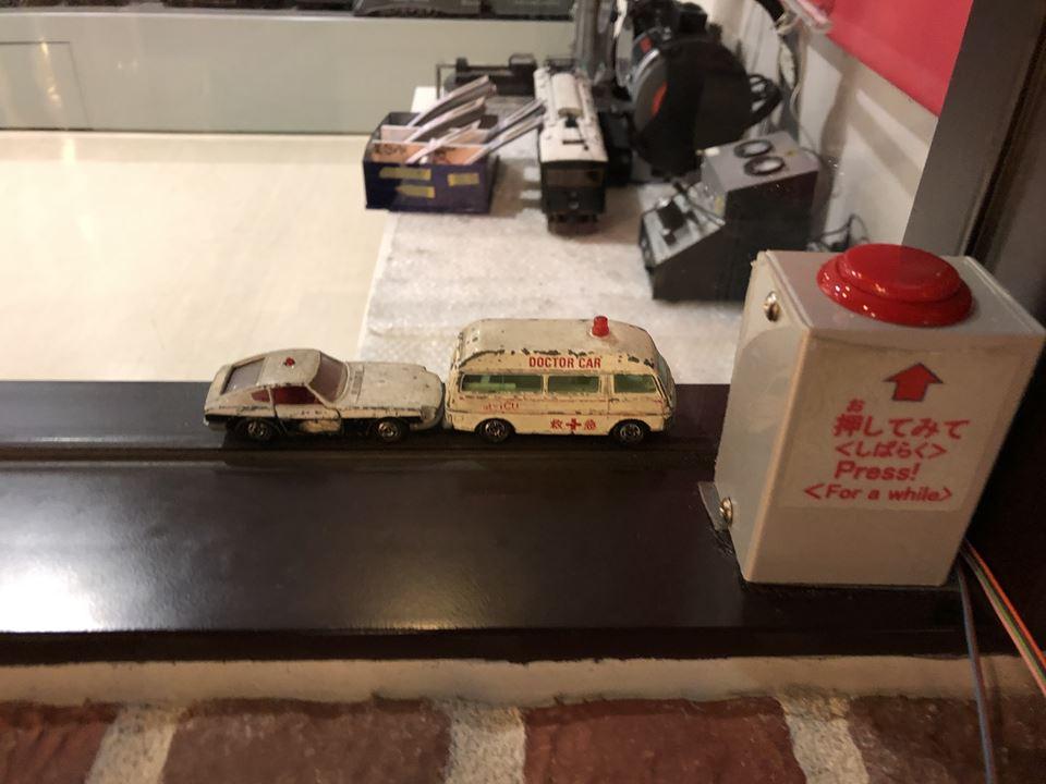 原鉄道模型博物館にある車輛工房