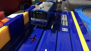 京急線「BLUE SKY TRAIN(ブルースカイトレイン)」のプラレール写真