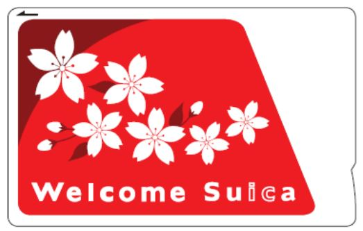 Welcome Suicaのカードイメージ
