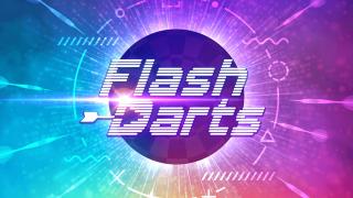 「アソビル」地下1階「PITCH CLUB(ピッチクラブ)」に常設される「FLASH DARTS(フラッシュダーツ)」画像