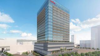 村田製作所みなとみらいイノベーションセンターの完成イメージ