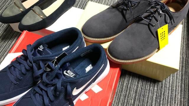 ZOZOTOWNで購入した靴