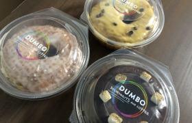 「DUMBO Doughnuts and Coffee (ダンボ ドーナツアンドコーヒー) アソビル店」のドーナツ写真