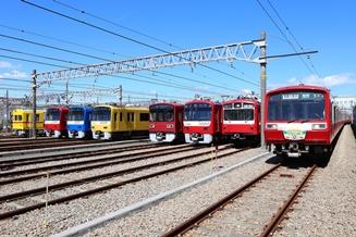 京急ファミリー鉄道フェスタの様子