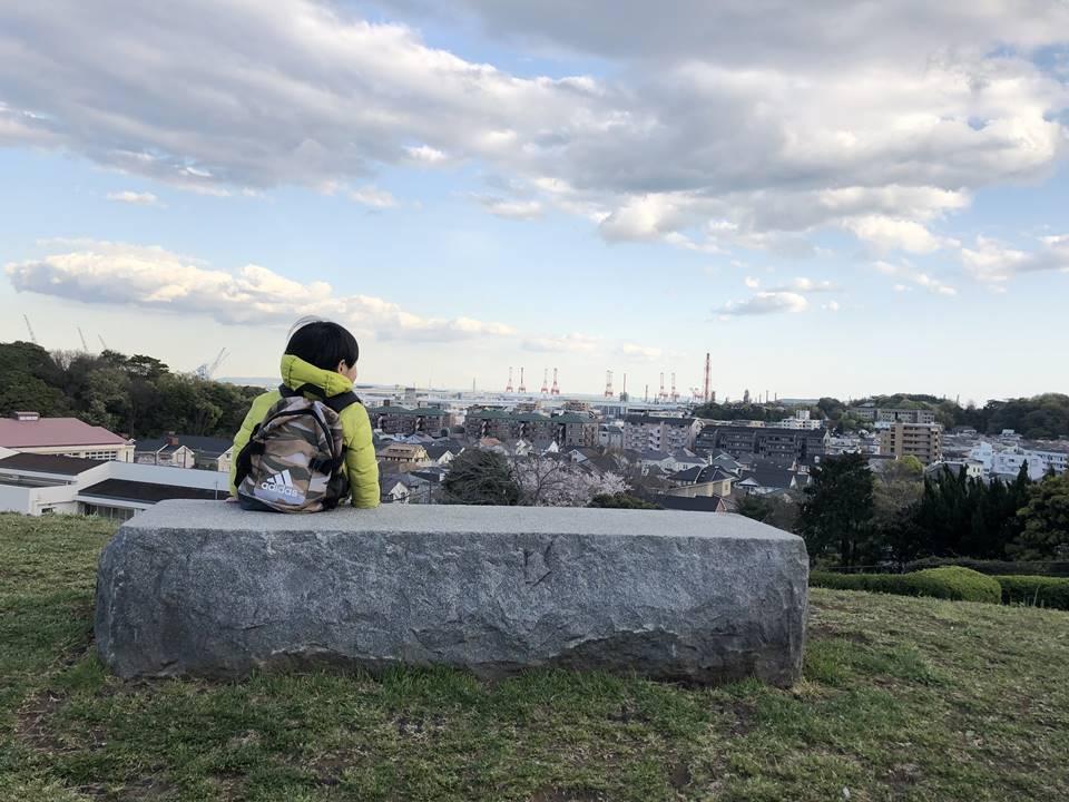 本牧山頂公園からの眺望