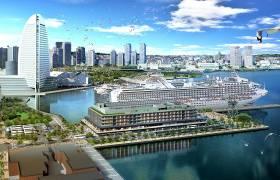 横浜みなとみらい「ハンマーヘッドプロジェクト」内にできるインターコンチネンタル横浜Pier 8(ピアエイト)
