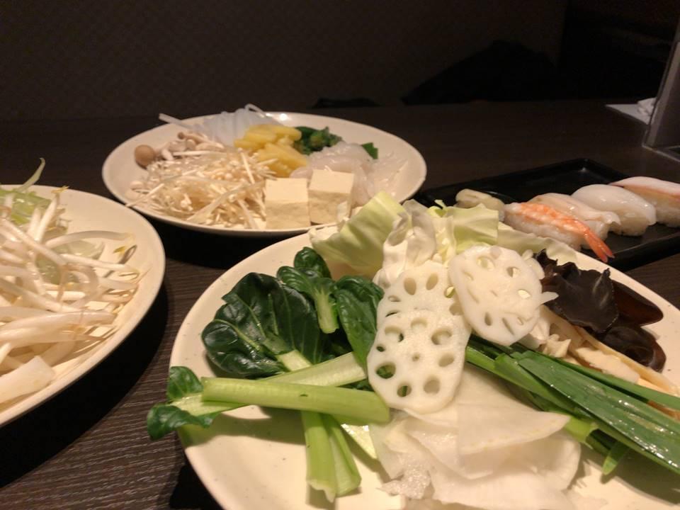 しゃぶ葉横浜ワールドポーターズの野菜写真