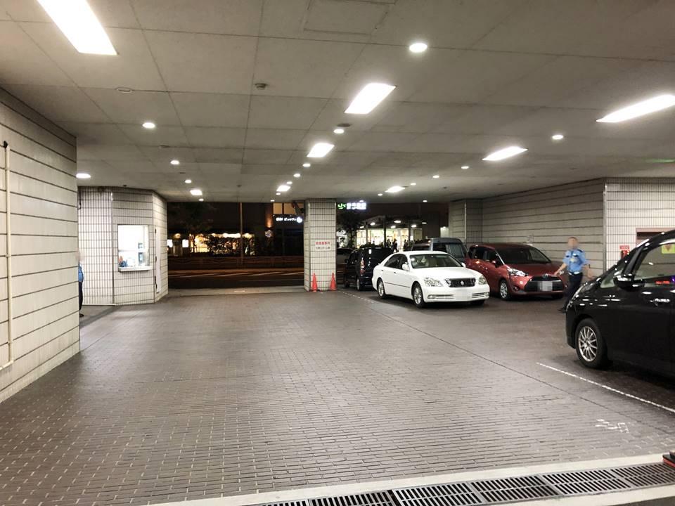 横浜市夜間急病センターの駐車場画像