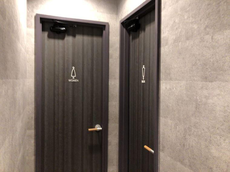 カフェルノアール横浜元町展のトイレ写真