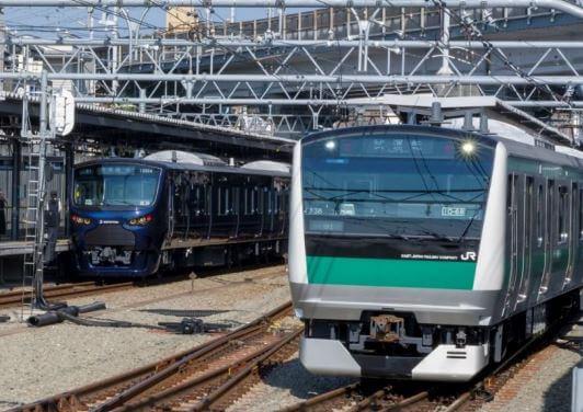 2019年9月2日、相鉄線・JR線直通運転に向けた試運転の様子