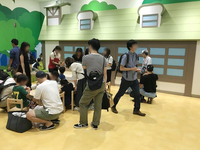 横浜アンパンマンこどもミュージアムのがっこう写真