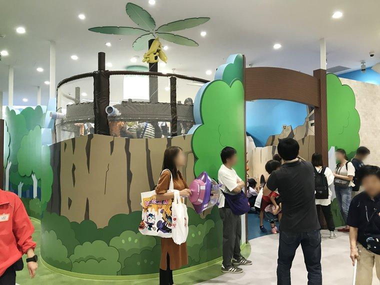 横浜アンパンマンこどもミュージアムのわんぱくアイランド写真