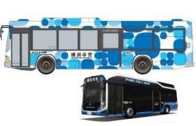 みなとみらいに新設される観光スポット周遊バス「ピアライン」のイメージ画像