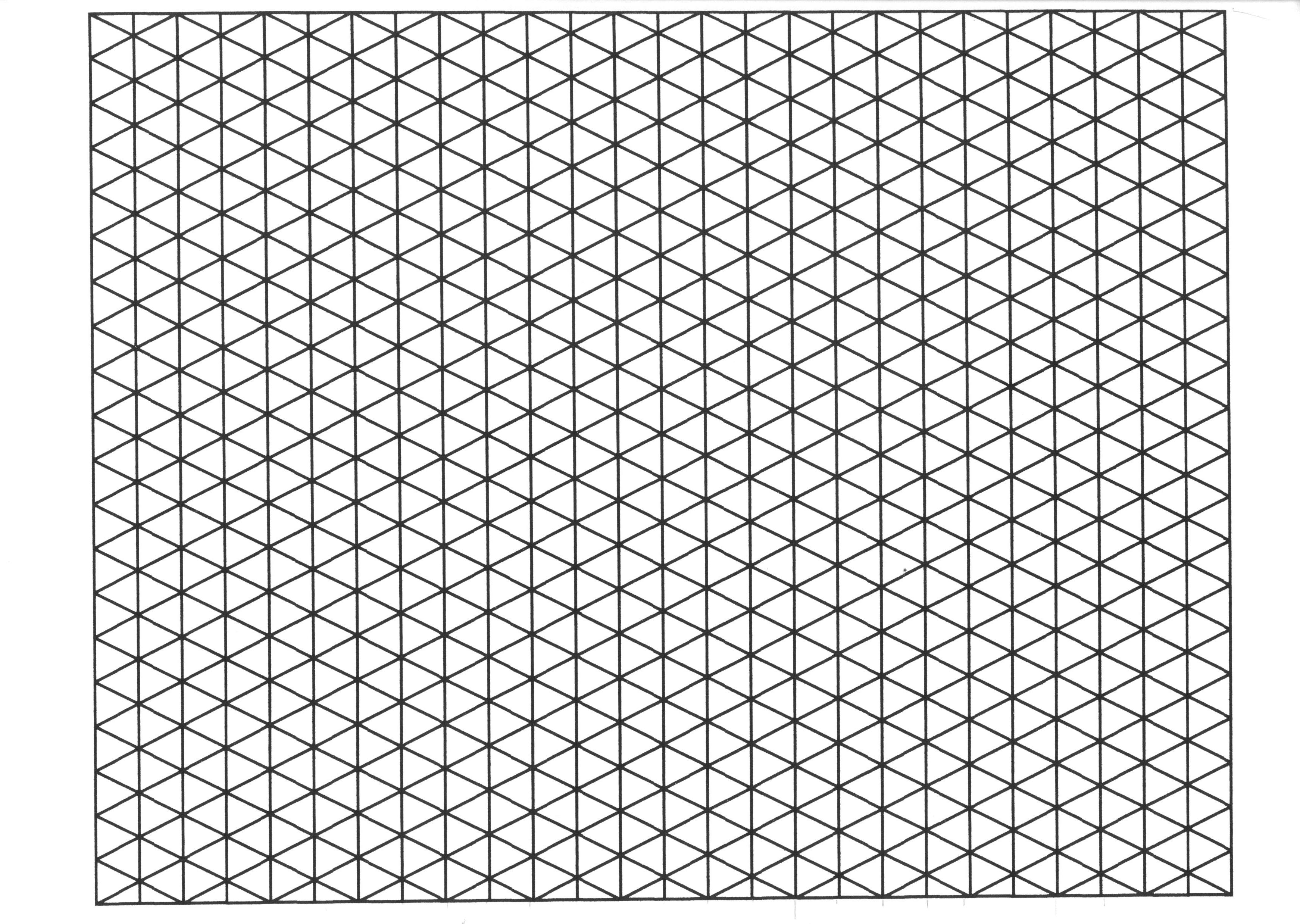 Isometric Graph Paper Online