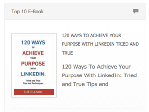 Top 10 Ebook 120 Ways To Achieve Your Purpose With LinkedIn by Sue Ellson