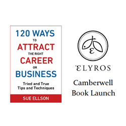 Book Launch 120 Ways To Attract The Right Career Or Business by Sue Ellson at Elyros Camberwell