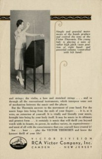thermin_1930s RCA Victor Theremin Brochure