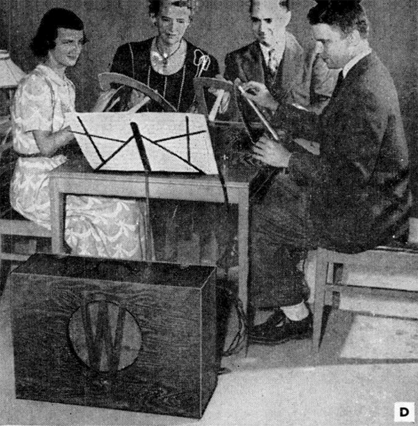The Wobble Organ © Popular Mechanics Magazine January 1952.