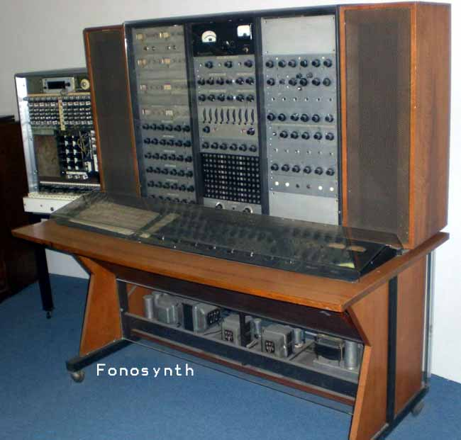 The Fonosynth at the Musical Instrument Museum (photo: suonoelettronico.com)