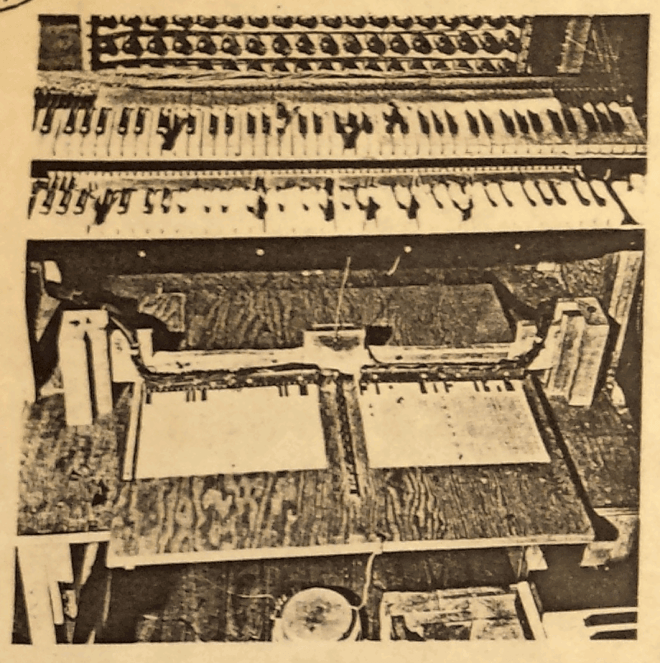 1942 Photograph of the tone generators of the Hanert Electrical Orchestra. Photo; Private collection of Douglas Jackson 2017.