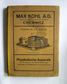Max Kohl catalogue