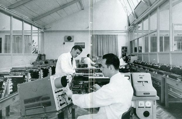 Vierling research laboratories in 1060