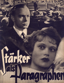 """spite the oppressive new political climate, Mager was commissioned to create sound effects with the Partiturophon in the 1936 film """"Stärker Paragraphen als""""  by Jürgen von Alten , with music by Rudolf Perak."""