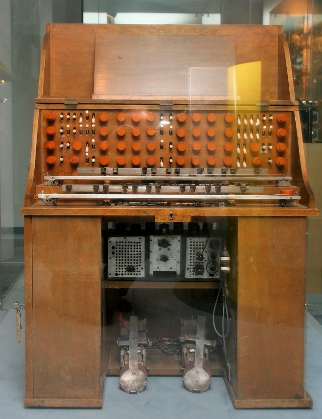 Mixturtrautonium at the Vienna Technology Museum