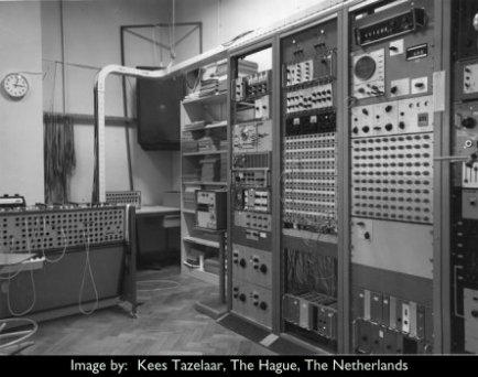 Analogue Studio 2 at STEM, utrecht