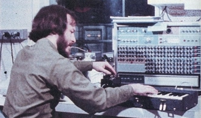 Richard Moore with the Groove System