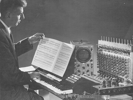"""My primary concern was making an electronic instrument that was musically expressive."""
