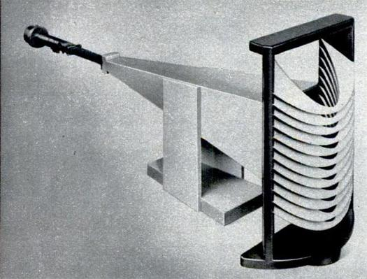 Acoustic lenses developed by Winston Kock at the Bell Labs in the 1950's