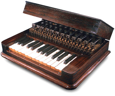 Elisha Gray's Musical Telegraph keyboard transmitter.