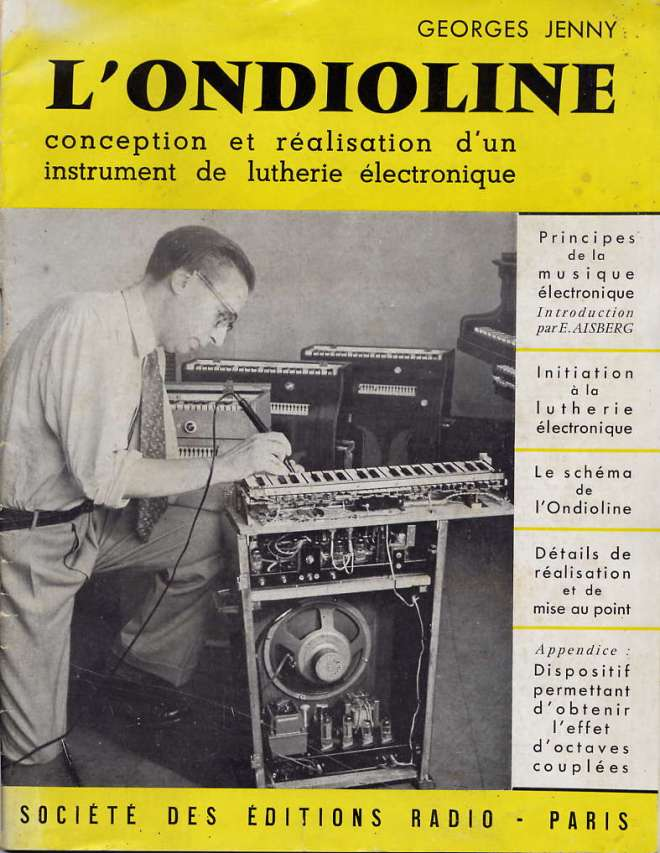 Georges Jenny 'Ondioline booklet