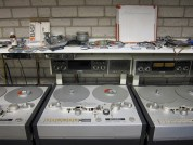 Studer Tape recorders Institue of Sonology Analogue Studio, Den Haag