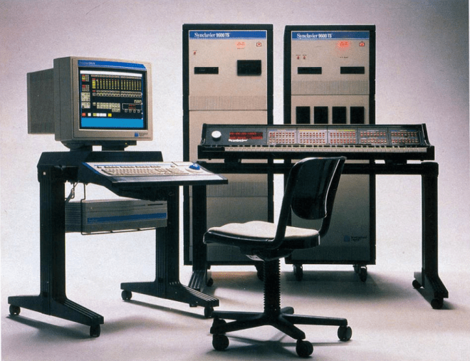 Late version of the Synclavier II