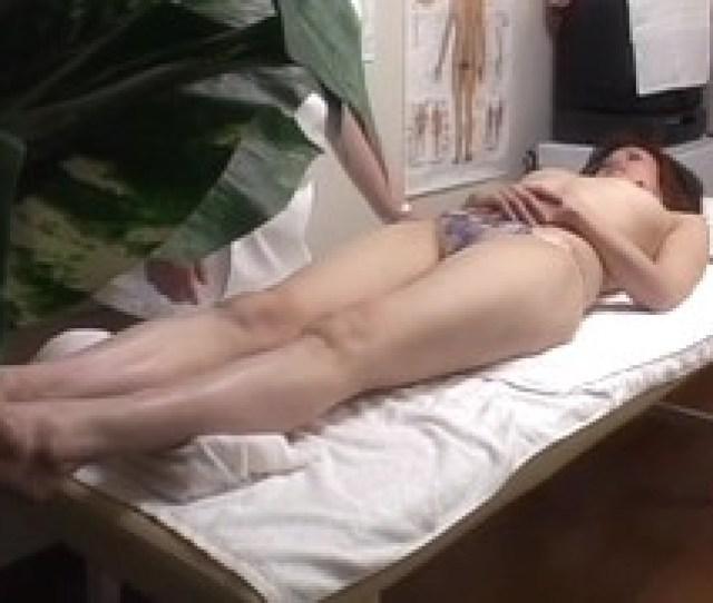 Girl Gets Deep Pussy Massage On Hidden Cam Voyeur Video