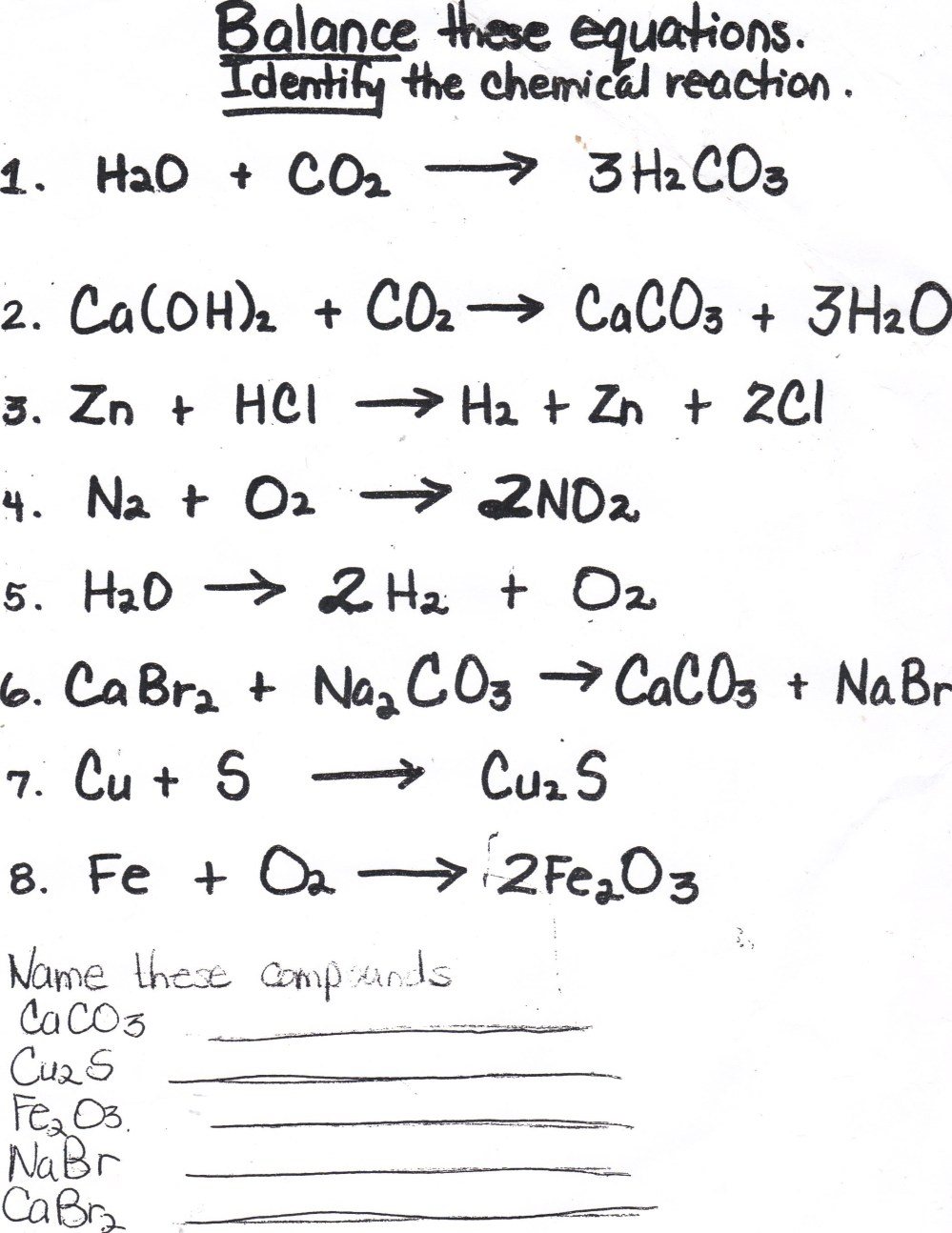 medium resolution of Balancing Chemical Equations Homework Help; Balancing chemical equations  homework help