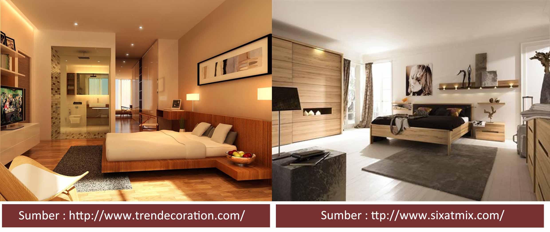 Desain Interior Ruang Tamu Lantai Kayu  Desain Rumah